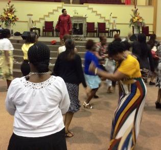 praise break at DWBB 2015