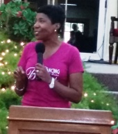 Minister Ivy McGregor at DWBB 2015