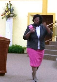 Pastor Karen Alexis at DWBB 2015