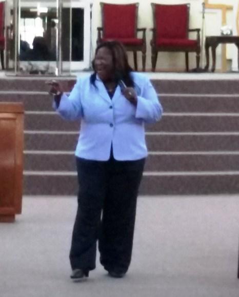 Prophetess Camille Lewis at DWBB 2015