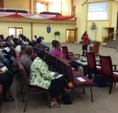 Elder D. B. Jeffers at DWBB 2015