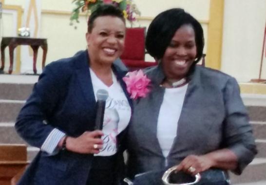 w/ Pastor Karen Alexis