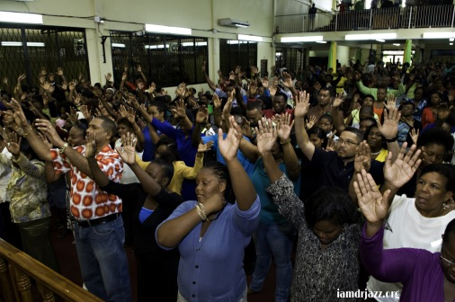 altar call at Mountain Movers